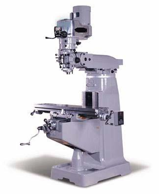 Bridgeport series ii special vertical mill (heavy duty table and.